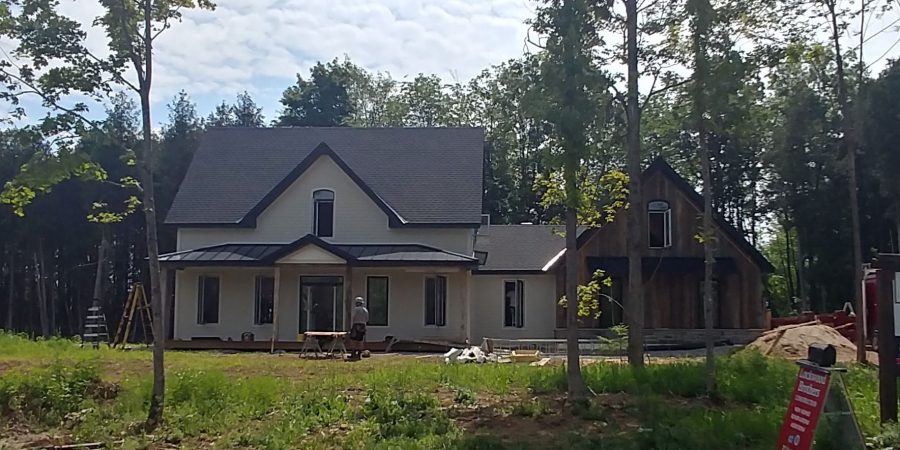Flint Hill Model Home Getting Close